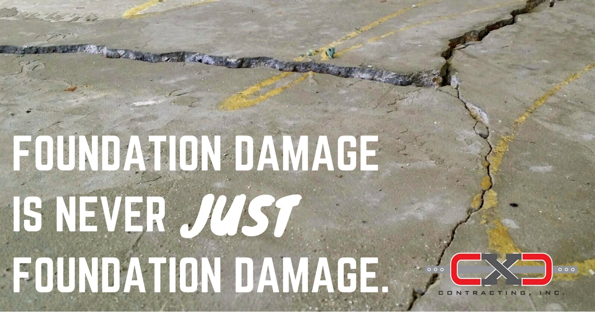 Foundation Damage - Repair - CXC Contracting